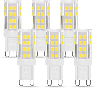 Bombilla LED G9 de 5W Equivalente a 40W Lampara Halógena,