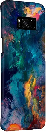 MADANYU Samsung Galaxy S8 Plus Cover - Color Storm So Colorful Abstract Designer Printed Slim Back Case Cover for Samsung Galaxy S8 Plus