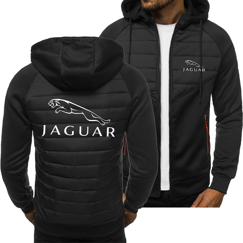 Chaqueta De La Sudadera para Hombre para La Impresión del Jaguar 3D Jersey Uniforme De Béisbol Casual Sports Track and Field Jacket - Padre Y Niño Regalo Black-X-Large