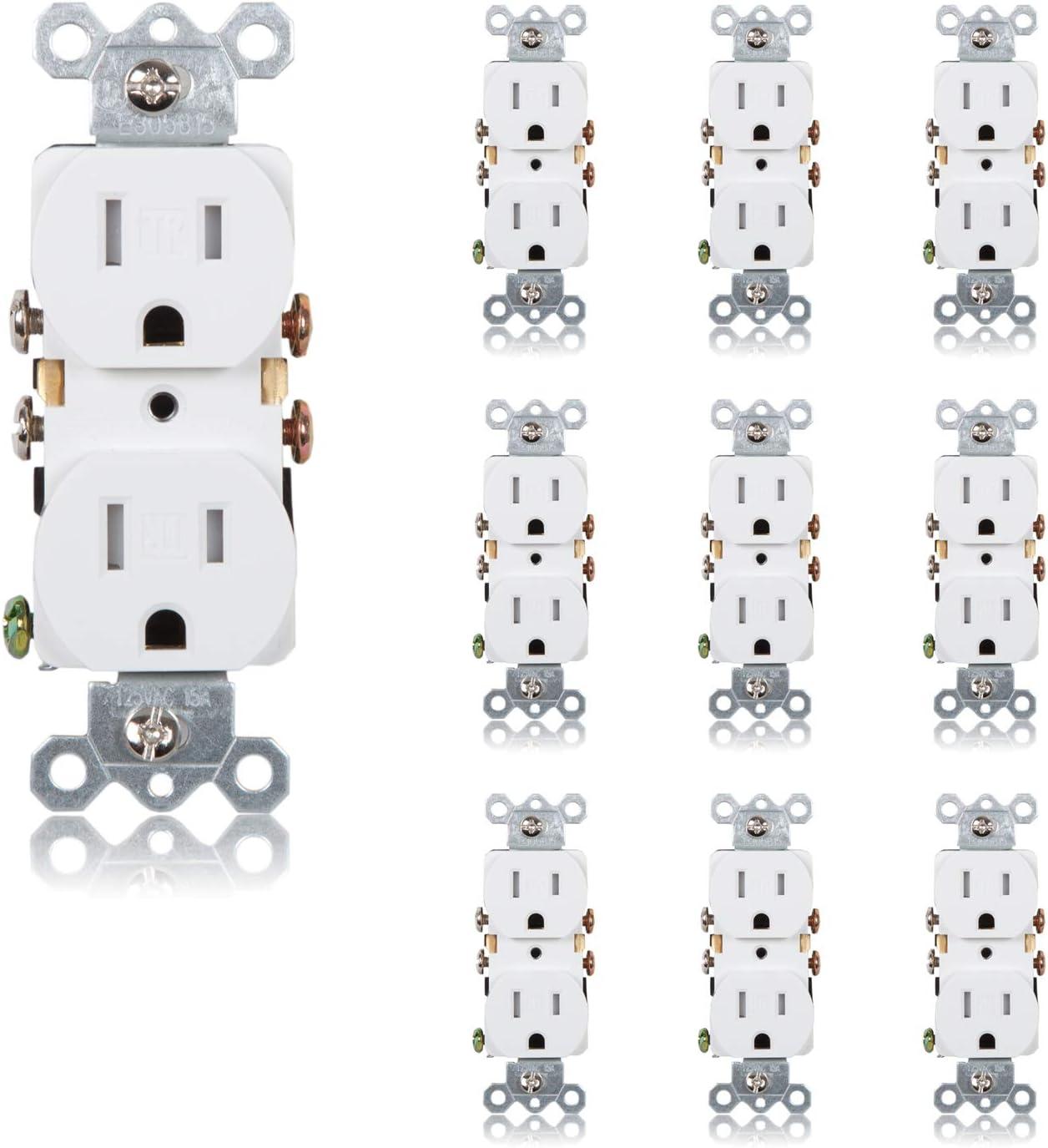 Finally Sacramento Mall resale start Maxxima Tamper Resistant Duplex Electrical Standard W Receptacle