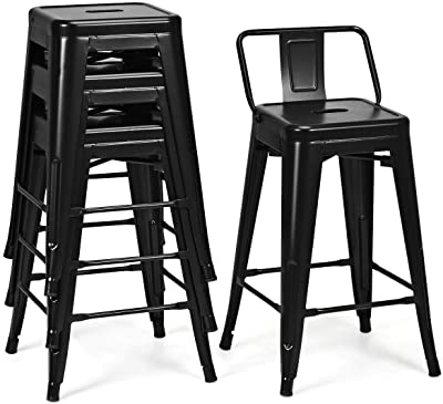 Outstanding Amazon Com Ac Pacific Modern Industrial Metal Barstool With Beatyapartments Chair Design Images Beatyapartmentscom