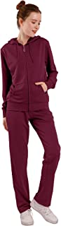 Sweat Suits for Women Set Cute Zip Up Hoodie and Comfy Sweatpants Jogging Suits