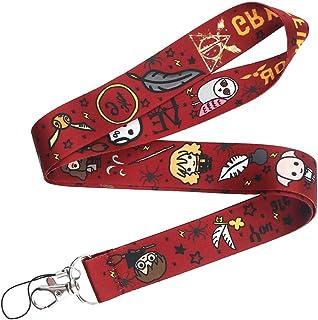 Sangle porte-objets pour téléphone, clé et carte d'identité, Lanière au thème école magique , portatif au cou, accessoire ...