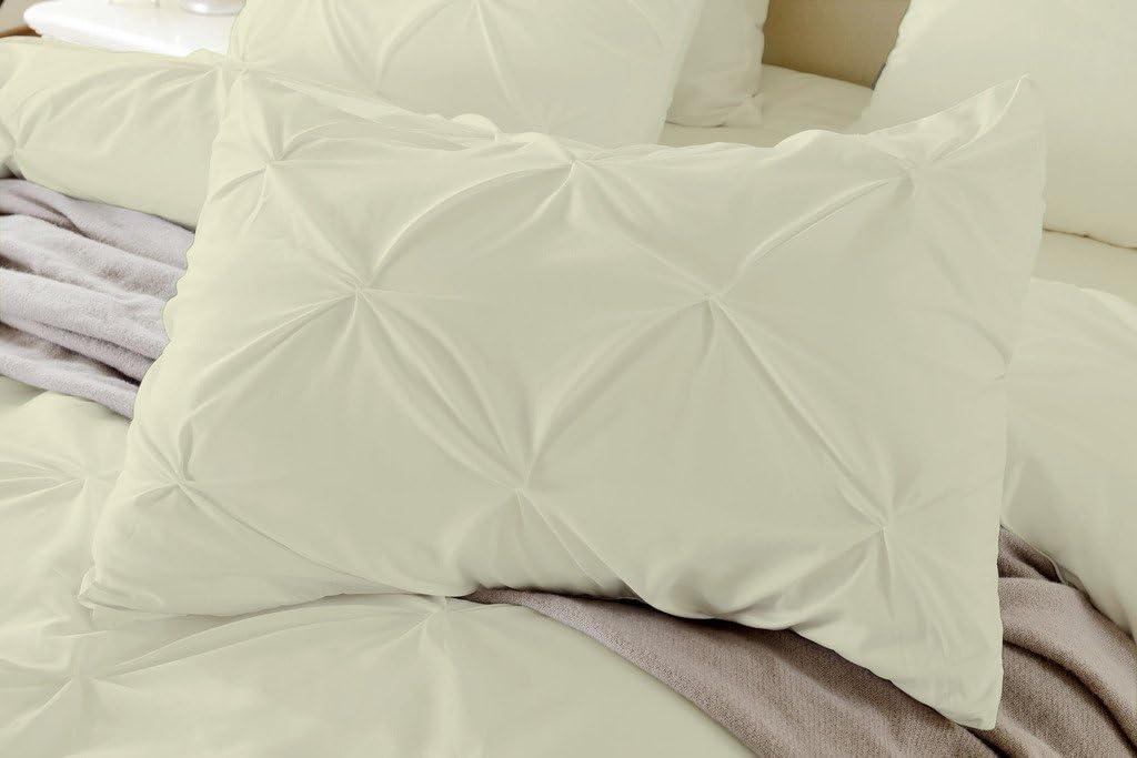 Bedding Kraft depot Soft Reliable Luxurious Pinch Pillow Shams Pleated Milwaukee Mall