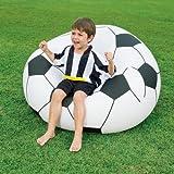 Fußballsessel, aufblasbar, ca. 114x112x71 cm, 1 Stück