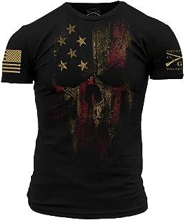 Grunt Style American Reaper 2.0 Men's T-Shirt (XXXX-Large, Black)