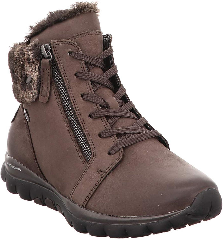 Gabor 96.956-29 Damen Warmer TEX-Stiefel aus Nubukleder Wechselfußbett  | Verschiedene
