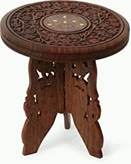 Nobel HUT Sheesham Wooden Table End Coffee Table for Living Room