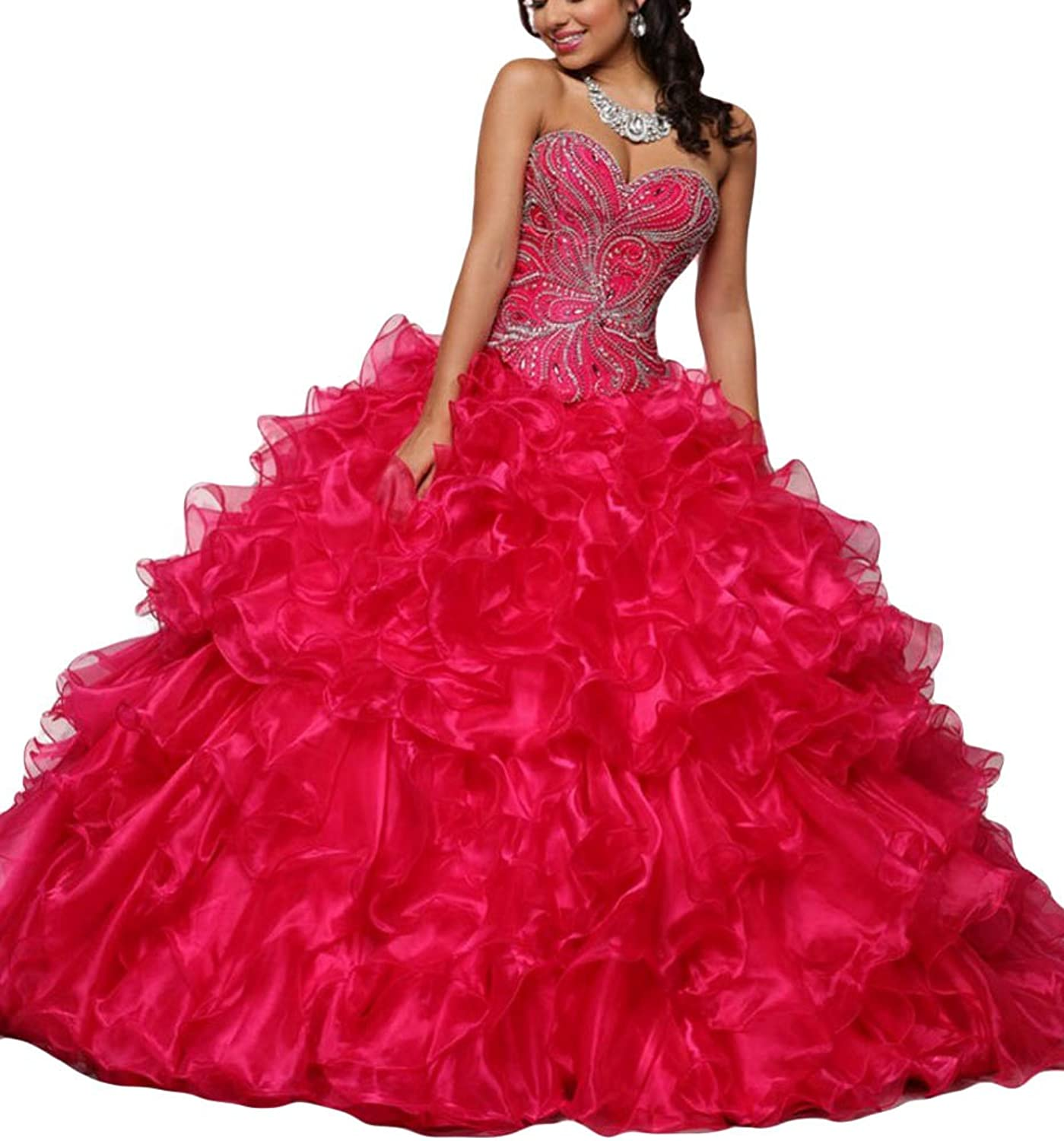 Beilite Sweet 15 Ball Gown for Teens Quinceanera Dresses