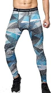 Mogogo Mens Compression Camouflage Quick Dry Sport Activewear Tights Legging