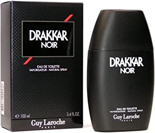Guy Laroche Drakkar Noir Eau de Toilette Spray for Men.EDT 3.4 Fl Oz, 100 ML