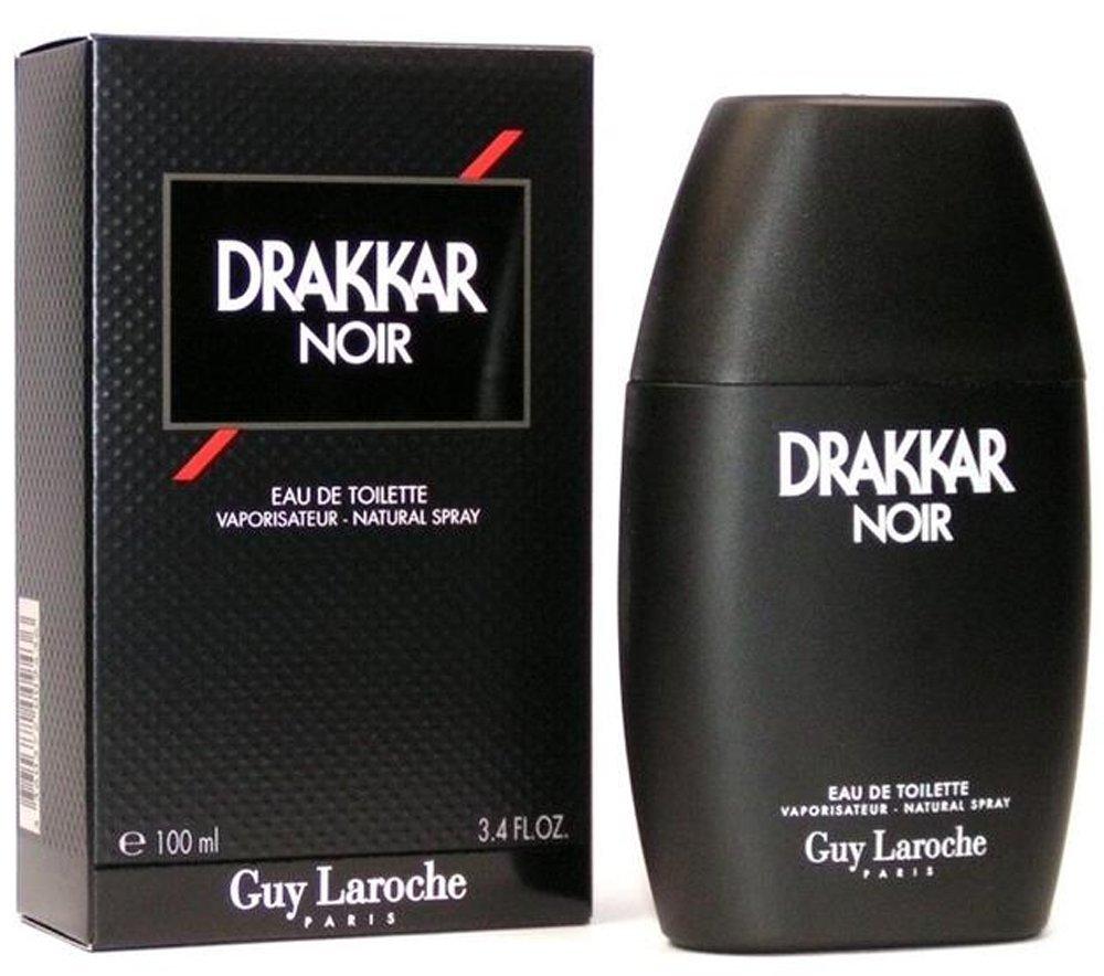 Guy Laroche Drakkar Noir Eau de Toilette Spray for Men.EDT 3.4 F