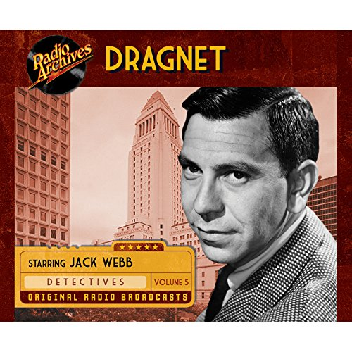 Dragnet, Volume 5 cover art