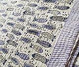 silkroude Schöne Tagesdecke mit Handblockdruck, Vintage-Stil, handgefertigt, gesteppt