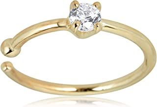 Best small gold nose ring price Reviews