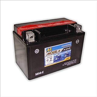 Bateria AGM Moto Moura 12V 8Ah MA8-E ARCTIC CAT 150 BMW 1000 HONDA CB 500 CB400F CB-1 CBR 600 900R