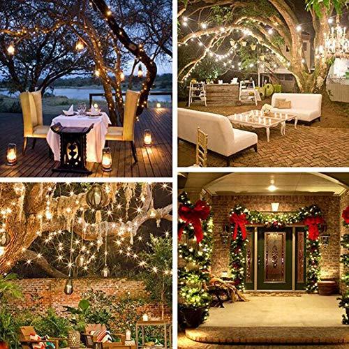 Regalo per NataleHebrew String Light, Outdoor Indoor Outdoor String Light Illuminazione Domestica Impermeabile per Gazebo da Patio con Decorazioni per Feste