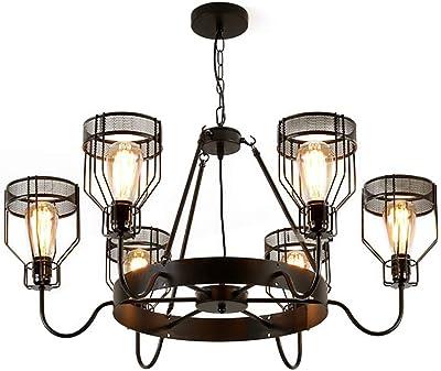 Amazon.com: BAYCHEER - Lámpara de techo con 6 luces ...