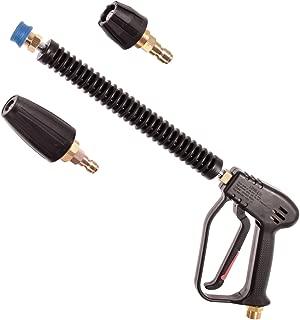 Pistola De Liberación Rápida Giratorio Italiano MTM Lanza Espuma Lance /& Boquillas Karcher M22M