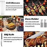 Zoom IMG-2 dwcouple accessori barbecue 25 pcs