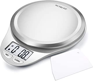 NUTRI FIT Multifunction Food Scale for Baking Kitchen Cooking,Tare & Auto Off..