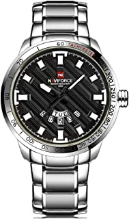 Naviforce Dress Watch For Men Analog Stainless Steel - 561