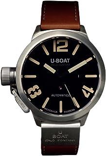 U-Boat - Classico A925 Nero 2083 - Reloj de Pulsera para Hombre, analógico, automático, Piel, Color Beige
