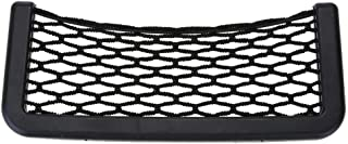 EKIND Universal Car Storage Net, Black Nylon Elastic Bag Compatible For Tools Mobile Phone and Charge (7.8 inches in length)