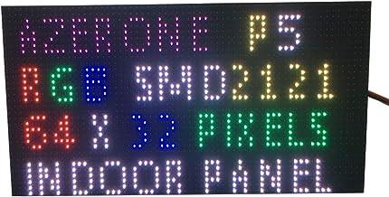 P5Interior LED a todo color pantalla Panel 64x 32Pixel 320mm x 160mm de tamaño, 1/16Scan SMD 2in1dos en uno 5mm RGB Junta P5LED memoria