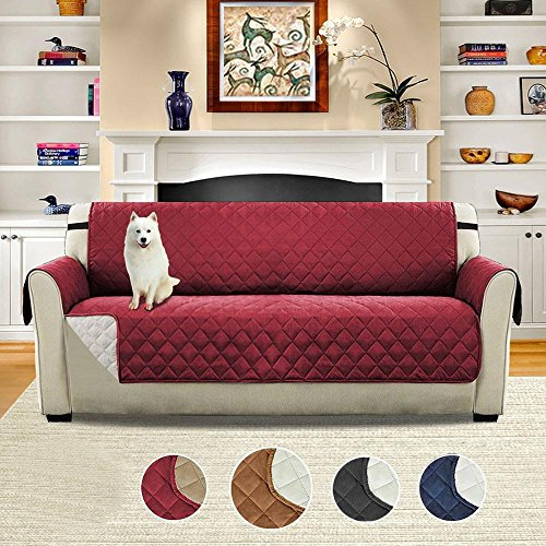 Pawaca Sofa Cover, Padded Furniture Sofa Protector, Waterproof, Anti-Dirty, Anti-grip
