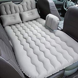 Cama de viaje viajes Bed coche colchón de aire viajes Bed inflable colchón de aire inflable de la cama Cama cubierta del asiento trasero inflable del amortiguador del sofá Tamaño: 135 * 90cm 5-23 Bomb