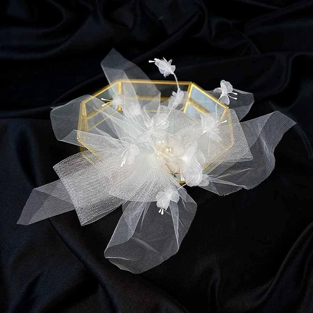 GPPZM Mesh Barrettes San Antonio Mall Bow Flower Side Super Clip Headdress Fairy lowest price