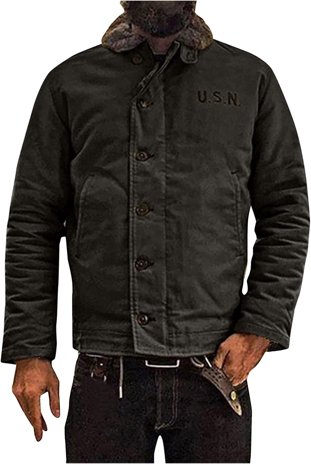 Mens Loose Jackets Lightweight Our shop most popular Shirt Coat Breasted Winter Al sold out. Single