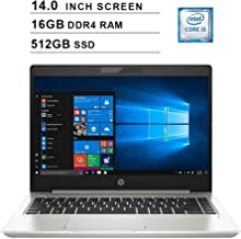 2020 Premium HP ProBook 440 14 Inch HD Business Laptop (Intel Core i5-8265U up to 3.90 GHz, 16GB DDR4 RAM, 512GB SSD, WiFi...