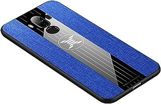 جراب واقٍ من مادة TPU مضاد للصدمات لهاتف Huawei Mate 9 جديد (أسود) ازرق