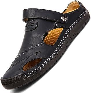 YVWTUC Męskie letnie sandały antypoślizgowe modne buty plażowe komfort