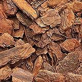 argan Corteccia de pino para mantillo, corteza de pino marítimo con trozos variados, excelente para mantillo y terrarios, 3 l