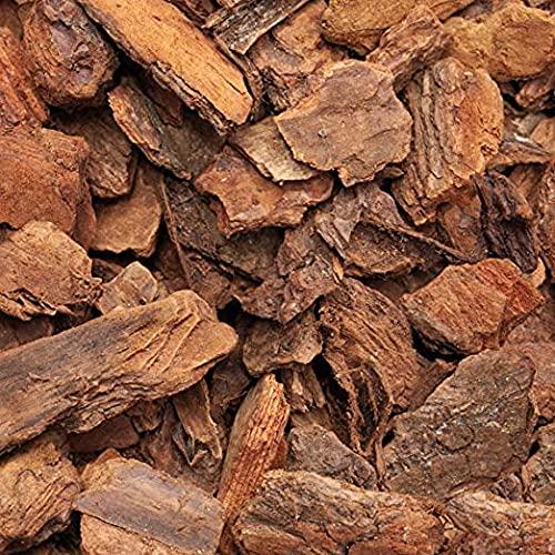 argan Corteccia di Pino per PACCIAMATURA - Corteccia di Pino Marittimo con pezzatura Varia Ottima per pacciamatura e terrari - 3L