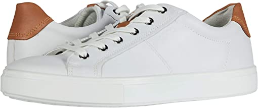 White/Lion Cow Leather/Cow Nubuck