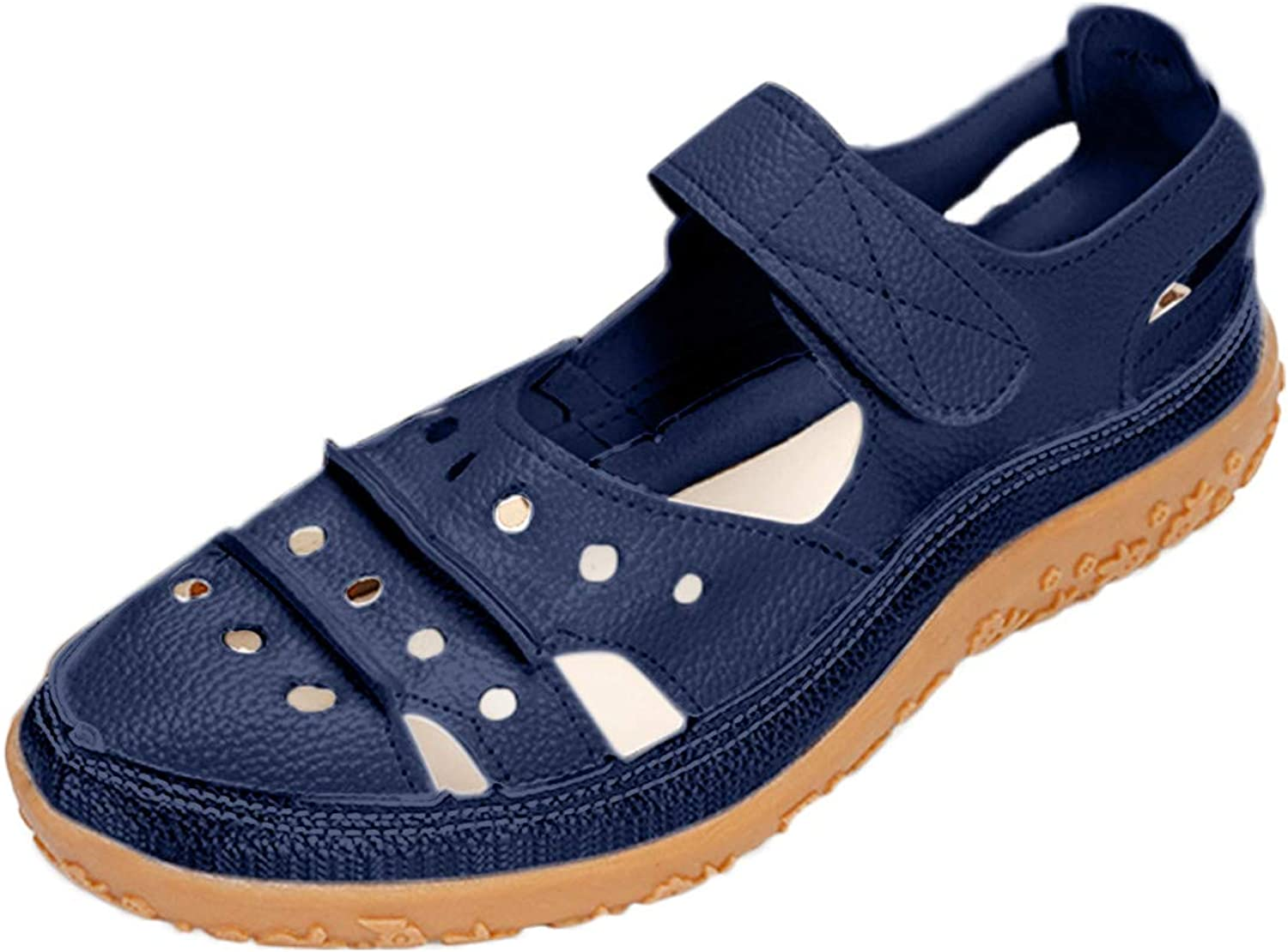 Nihewoo Sandals for Women Casual Summer Challenge the lowest price of Japan ☆ Size Large Ranking TOP18 Breath Hollow