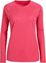Women's Crew Neck Moisture Wicking Cool Dry Running Sports Performance Golf T Shirts Tops Slim Fit