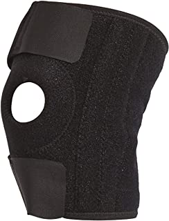Knee Brace, Adjustable Size for Men and Women, Patella Stabilizer, Support for Meniscus Tear and Arthritis, Running, Sports, Comfort for Pain Relief