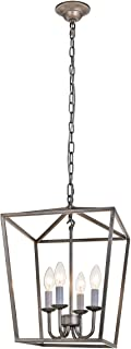 Best iron cage chandelier Reviews