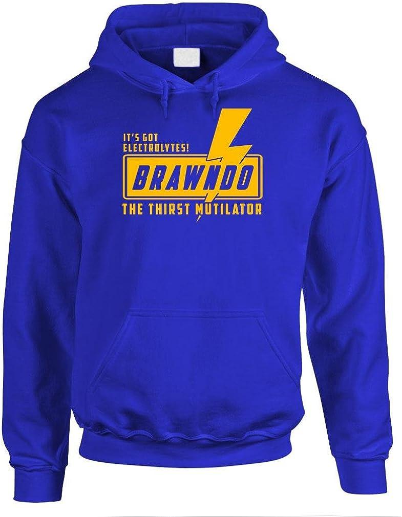 BRAWNDO Portland Mall - thirst mutilator electrolytes Pullover Mens Hoodie Max 80% OFF
