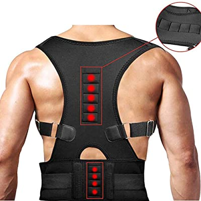 Back Brace Posture Corrector Unisex Adjustable ...