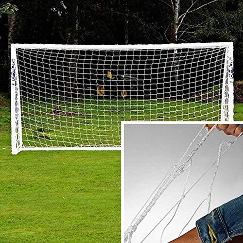 LQUIDE Fußball-Ersatznetz, Fußballtore für den Garten in Einer Tasche Fußballtor-Ersatznetz passt zu Fußballtoren