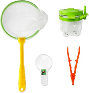 STEAM Life Educational Bug Catcher Kit for Kids   Bug Collection and Kids Explorer Kit Includes Butterfly Net, Bug Observation Capsule and Magnifying Glass   Science Toy for Boys and Girls 3 4 5 6 7