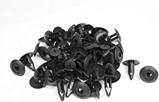 Uxcell a13032600ux0616 8mm 45 Pcs Bumper Retainer Fender Mud Flaps Guard Clips, Pack
