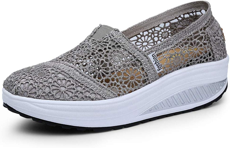August Jim Women Platform Flats shoes Outdoor No-Slip Casual Vulcanize shoes