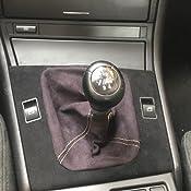 L P Car Design L P A0100 1 Schaltsack Schaltmanschette Handbremsmanschette Kompatibel Mit Bmw 3er E46 Weiche Microfaser Schwarz Naht Gelb Auto